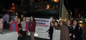 Simav'dan Çanakkale'ye 100 vefalı öğrenci