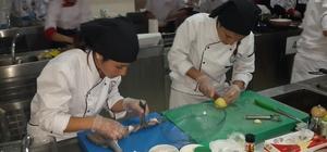 Genç aşçılar Köyceğiz'in gururu oldu