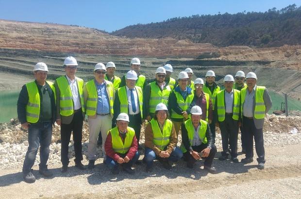 Altın madeni işçileri, Emet Bor İşletmesinde