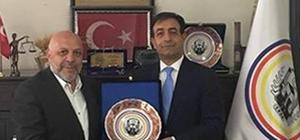Hak-İş Genel Başkanı Arslan'dan Göğebakan'a ziyaret