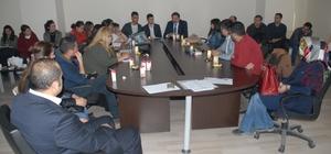 Mahalle okul yöneticilerine yönelik iş yeri sağlık ve güvenlik toplantısı