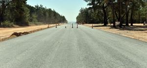 Kirişçiler Yoluna ilk asfalt