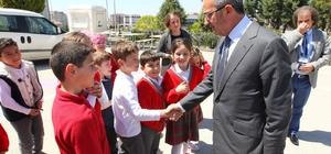 Başkan Köşker  miniklerle buluştu