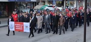 Erzincan 57'nci alay için yürüdü