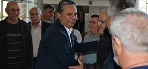 Başkan Uysal Ermeneklilerle buluştu