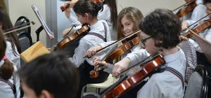 """""""İki Elin Sesi Var"""" Çocuk Senfoni Orkestrası Belçika'ya gidiyor"""