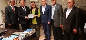 Fatma Kaplan Hürriyet, sendika ve dernekleri ziyaret etti