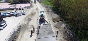 Zafer caddesi betonla kaplanıyor