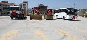 Odunpazarı Belediyesi yeni araçlarla filosunu güçlendirdi