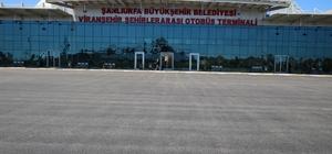 Viranşehir Şehirlerarası İlçe Otogar sahası asfaltlandı