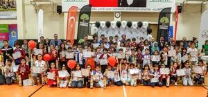 Şehitkamil'de dereceye giren 102 sporcu ödüllendirildi