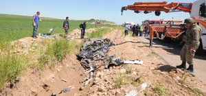 Mardin'de tanker ile otomobil çarpıştı: 2 ölü, 1 yaralı