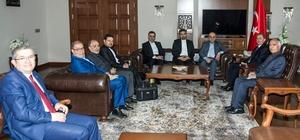 İran Doğu Azerbaycan Eyaleti Vali Yardımcısı Ali Navadad, Vali Taşyapan'ı ziyaret etti