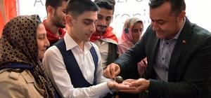 Antalya'da asker adaylarına kınaları yakıldı