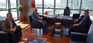 Başkan Albayrak'tan, Çorlu TSO'ya ziyaret