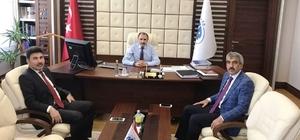 Rektör Karacoşkun Bakan Yardımcısı ile görüştü