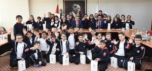Başkan Uğur öğrencilerle tecrübelerini paylaştı