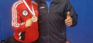 Sökeli Edanur Şenyüz Karate Türkiye Şampiyonasında