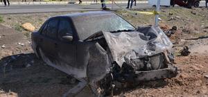 Kayseride trafik kazası: 1 ölü, 1 yaralı
