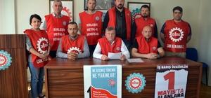 DİSK Birleşik Metal İş Sendikası Bilecik Bölge Temsilciliğinden 1 Mayıs açıklaması