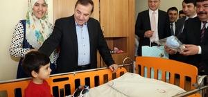 Başkan Kadıoğlu'ndan çocuk hastalara ziyaret