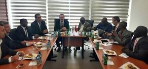 Gambiyalılardan Pamuk Ambarı Söke'ye Ziyaret