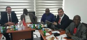 Gambiya Tarım Bakanı Jallow, Söke'de