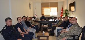 Tümen komutanı hastaları ziyaret etti