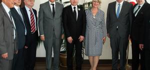 Kosova ve Bosna Hersek heyetinin Bodrum ziyareti