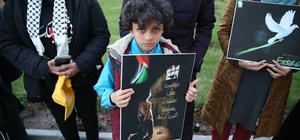 """""""Filistinli tutsaklara 'yalnız değilsiniz' demek istiyoruz"""""""