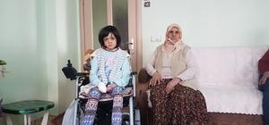 Ağrı'da 32 yıldır evde hapis hayatı yaşıyor