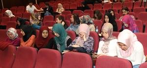 ERÜ'de 'Yaşama Sevinci' konulu konferans düzenlendi