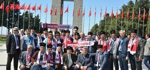 Başkan Kocamaz ve muhtarlar Çanakkale'de