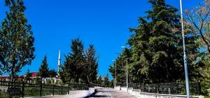 Büyükşehir Sancaktar Mezarlığında düzenleme çalışması yapıyor