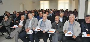 Hayrabolu'da çiftçilere bilgilendirme toplantısı