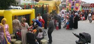 Bozüyük Belediyesi 23 Nisan 5. Çocuk Festivali hafta sonu şişme oyun gurupları ile devam edecek