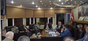 AK Parti heyetinden Başkan Yaman'a ziyaretler