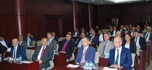 Vali Yerlikaya GTO Meclis Toplantısına konuk oldu