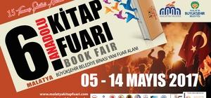 6. Malatya Anadolu Kitap ve Kültür Fuarı Cuma günü açılıyor