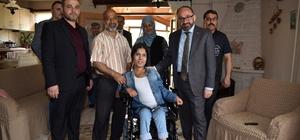 Başkan Üzülmez'den engelli ve ihtiyaç sahiplerine destek
