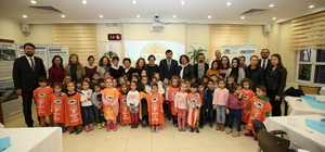 İZAYDAŞ, TEMA Vakfı yöneticilerini ve minik öğrencileri ağırladı