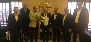 Eğitim Bir-Sen'den AK Parti İl Başkanlığı'na ziyaret