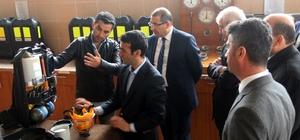 Başsavcı Yağız, TTK İş Güvenliği Daire Başkanlığını ziyaret etti