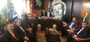 Genel Başkan Vekili Doğan, Genel Müdür Eroğlu'nu ziyaret etti