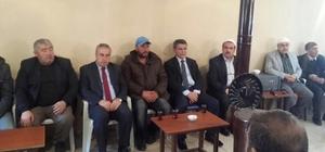 Kaymakam Özkan'dan şehit askerin ailesine taziye ziyareti
