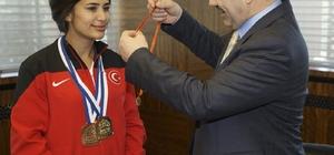 Kayseri okçuluk sporunda bir şampiyon daha çıkardı