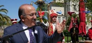 Kanuni Sultan Süleyman Han'ı doğumunun 522. yıldönümü etkinlikleri