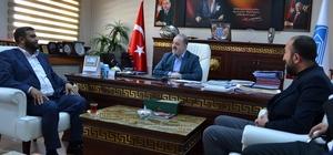 Van Kültürder'den Genel Sekreter Yalçın Ve Başkan Özgökçe'ye ziyaret