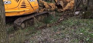 Yenice köylerinden alt yapı çalışmaları başladı