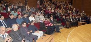 """Prof. Dr. Kırbaşoğlu'ndan Öğrencilere """"İslam dünyasına açılın"""" tavsiyesi"""